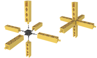 Enginbo bouwen in drie richtingen